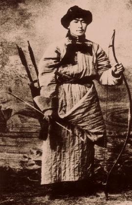 Бурятский лучник.