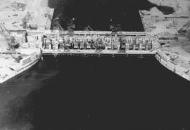 А это вид с самолета (1956).