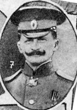 Генерал-майор, составитель 1-й части Стратегического очерка войны 1914–1918 гг.