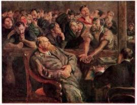 """""""Расчёт"""". 1910. Государственный музей Революции СССР"""