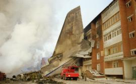 Катастрофа транспортного самолета ВВС РФ Ан-124 «Руслан» в Иркутске