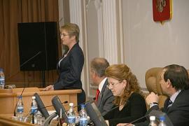 На одном из заседаний ЗС Иркутской области