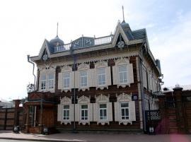 «Дом Европы» - один из ярких образцов русского деревянного зодчества в Иркутске.
