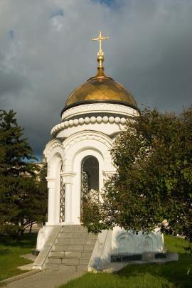 Одна из часовен собора, восстановленная в наши дни