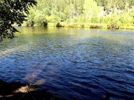 Хаим – одна из самых больших рек Прибайкалья.
