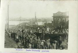 Седьмой Полк на празднике святого Вацлава - покровителя Чехии, Иркутск, 28 сентября 1918.