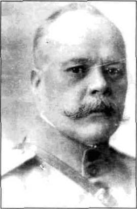 А.В. Эллерц-Усов, полковник, активный участник Белого движения, в годы Первой Мировой войны - офицер 7-й Сибирской стрелковой дивизии, георгиевский кавалер