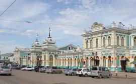 Иркутский железнодорожный вокзал. 2007