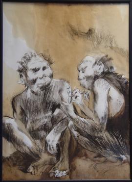 Картина Евгения Монохонова «Трансформация татуировки».