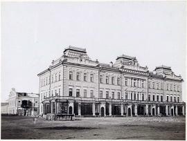 Здание Иркутской судебной палаты (ныне - областного суда)