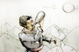 На просторах отечества существует устойчивое мнение, что спаивание коренных сибиряков произошло в результате их контактов со славянами — в период «колонизации» русскими Сибири и Севера.