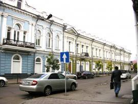 Дом Домбровского Я.С. на Котельниковской №1. Фото авторов. 2011