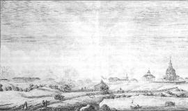 Вид Тельминской фабрики. 1827 г.