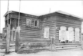 Жилой дом 2-й пол. XIX в. Фото Л. Басиной. 1991 г.
