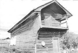 Жилой дом 2-ой пол. XIX в. Фото Л. Басиной. 1991 г.