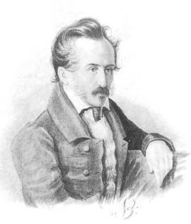 С.Г. Волконский. Акварель Н.А. Бестужева. 1840-е гг.