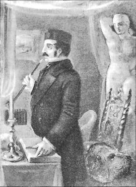 Ф.Ю. Вольф. Акварель Н.А. Бестужева. 1842-1845 гг.