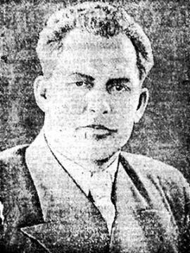 Александр Павлович Ефимов - первый секретарь Иркутского обкома ВКП(б) 1944-1949 гг.