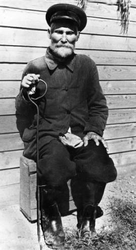 Долгожитель села Сухарев Гавриил. Немного не дожил до 118 лет