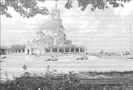 Церковь Казанской Иконы Божией Матери. Фото Э. Брюханенко. 1966 г.