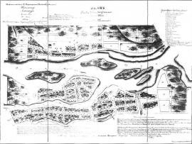 План Нижнеудинска. 1859 г.