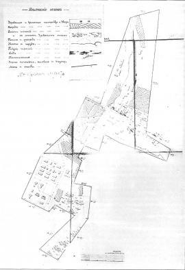 План построек Александровской центральной каторжной и пересыльной тюрем. Кон. XIX в. ГАИО