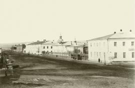 """Улица Казарменская и """"Американские казармы"""". До 1917"""