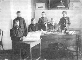 Горные специалисты рудника П.К. Щелкунова. Фото нач. XX в.
