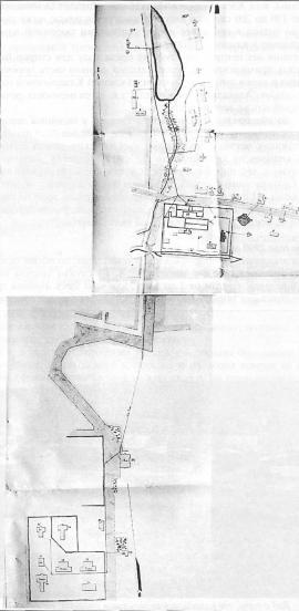 План электрический сетей Александровской центральной каторжной и пересыльной тюрем. Кон. XIX в. ГАИО