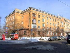 Жилой дом по ул. Красного восстания, 5. Автор проекта - архитектор Б.М. Кербель. Фото: блоггер Friedens