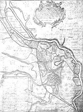 План Тельмы 1792 г.