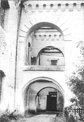 Внутренний двор Александровского централа. Фото О. Маркевича. 1960- е гг.