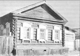 Жилой дом кон. XIX в. Фото О. Честковой. 2001 г.