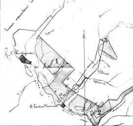 Район Тальцов. Карта кон. XIX в. ГАИО