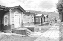 Здание железнодорожного вокзала ст. Култук. Фото И. Бержинского