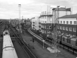 Железнодорожный вокзал - ворота в город.
