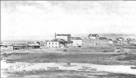 Вид на Тельминскую фабрику. Фото кон. XIX в.