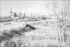 Урик. Вид села. Фото И. Бержинского. 2007 г.