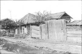 Жилой дом 1838 г. Фото Л. Басиной. 1991 г.