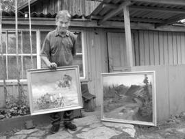 Александр Ульянов, сельский живописец