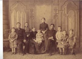 Александр Сошников с семьей