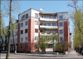 Дом железнодорожников, угол ул. К. Маркса и 5-й Армии