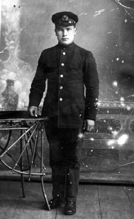 1936 год. Георгий перед уходом в армию