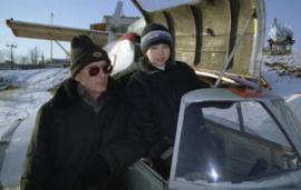 Конструктор Владимир Седых 15 лет собирал свой экраноплан