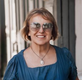 Елена Григорьева. Фото Марины Дубас, 2020