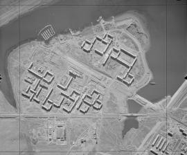 Иркутск, микрорайон Солнечный. Вид сверху. 1978