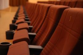 """СКДЦ """"Художественный"""". Современный вид. Кресла в зрительном зале"""