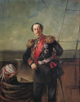 Портрет графа Николая Николаевича Муравьева-Амурского кисти К. Е. Маковского, 1863 год