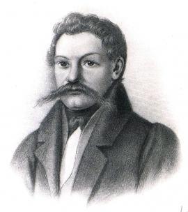 П.А. Муханов. Рисунок П.М. Головачёва