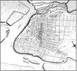 План Иркутска 1792 г.
